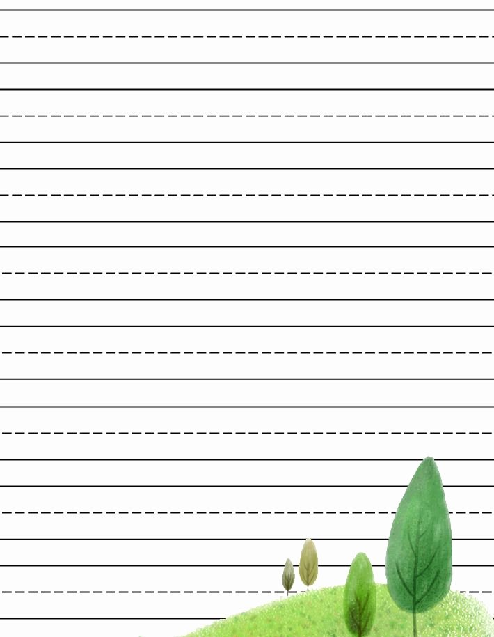 Free Lined Stationery Templates Unique Free Printable Kids Stationery Free Primary Lined Writing