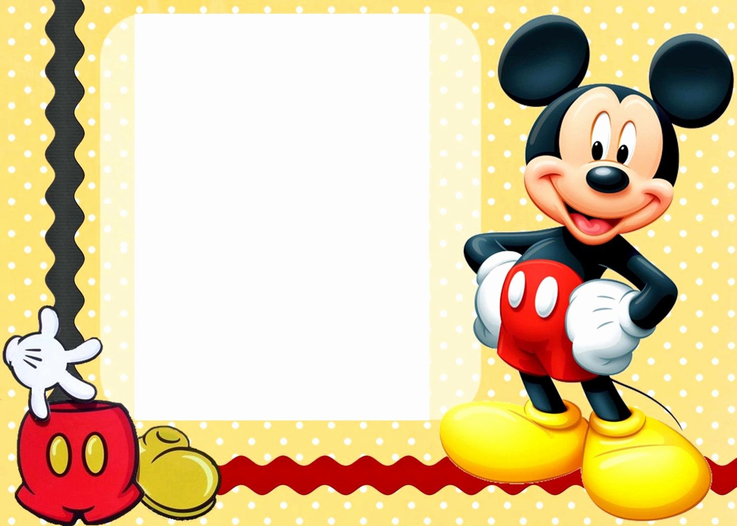 Free Mickey Mouse Template Best Of 25 Incredible Mickey Mouse Birthday Invitations