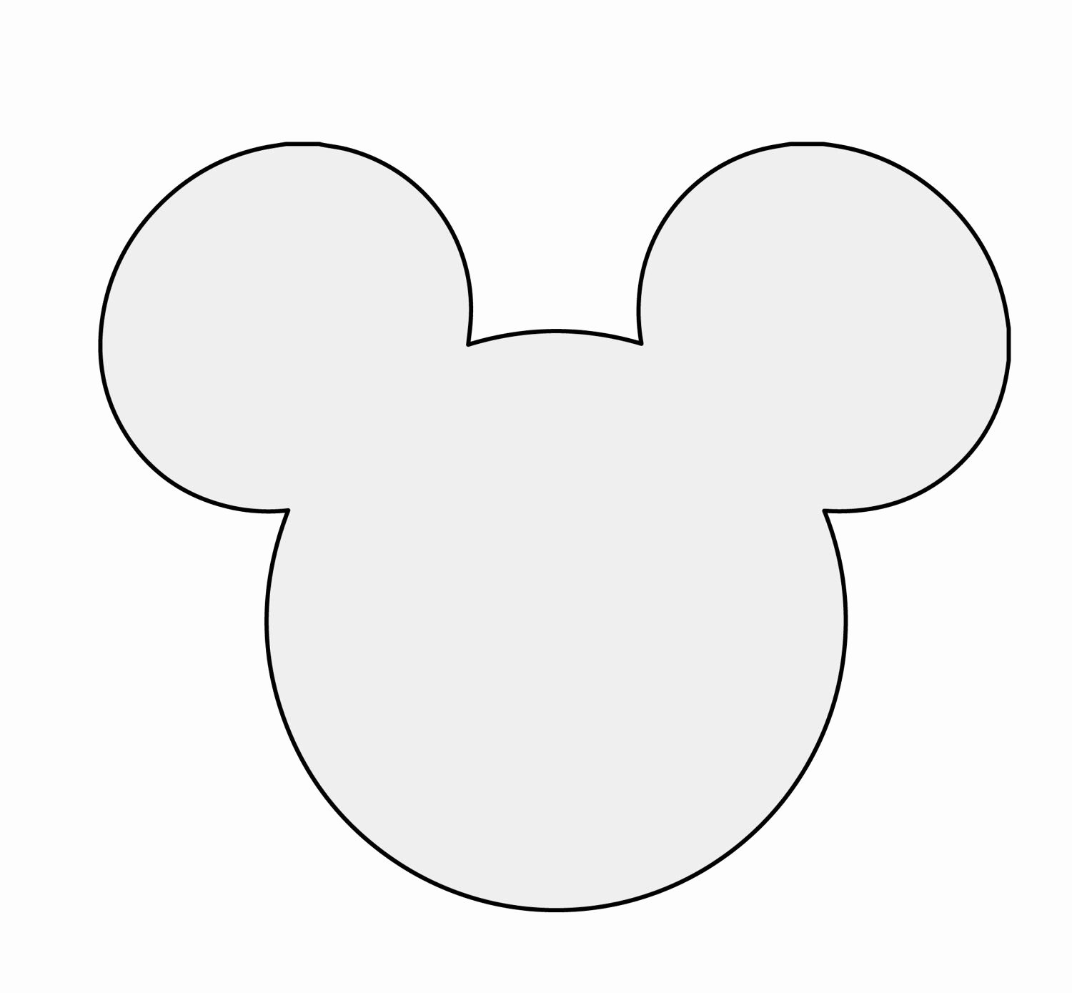 "Free Mickey Mouse Template Best Of 5"" H String Art Mickey Mouse Pattern Template"