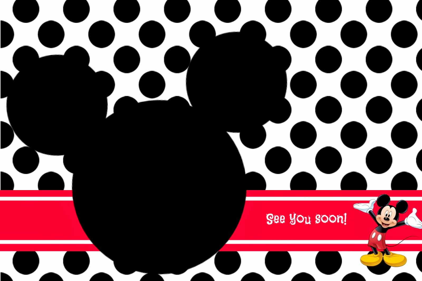 Free Mickey Mouse Template Lovely Random Ramblings