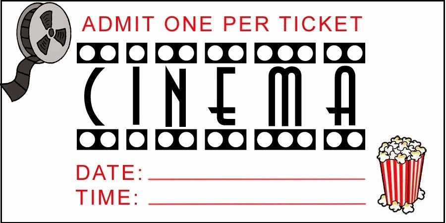 Free Movie Ticket Template for Word Best Of Printable Movie Tickets Free Download the Best Home