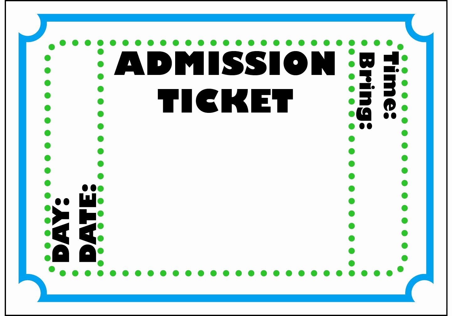 Free Movie Ticket Template for Word Fresh Admit E Ticket Template Example Mughals