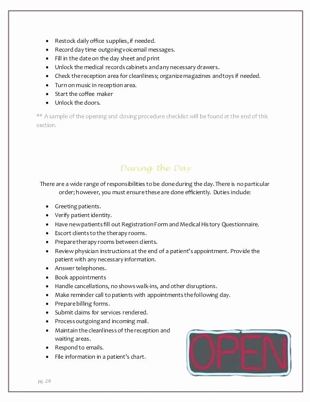 Free Office Procedures Manual Template Elegant Free Fice Procedures Manual Template Picture – Fice