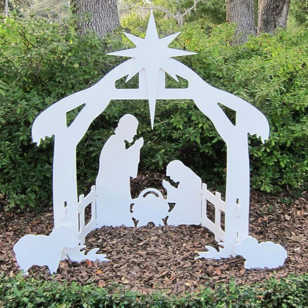 Free Outdoor Nativity Scene Patterns Awesome Outdoor Nativity Set Plans Pdf Woodworking