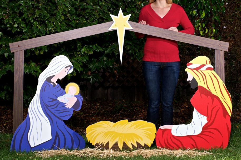Free Outdoor Nativity Scene Patterns Beautiful Outdoor Nativity Sets