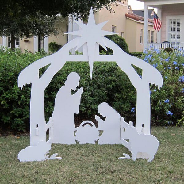 Free Outdoor Nativity Scene Patterns Best Of Outdoor Nativity Set
