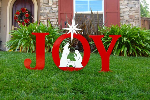 Free Outdoor Nativity Scene Patterns Elegant 40 Festive Diy Outdoor Christmas Decorations