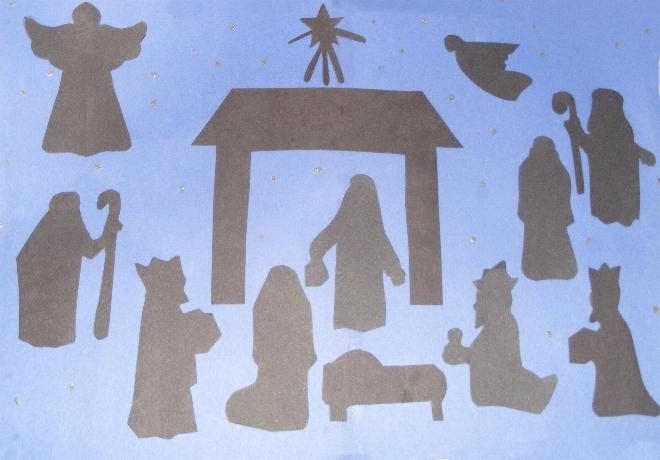 Free Outdoor Nativity Scene Patterns New Homeschool 4 Free Nativity Patterns