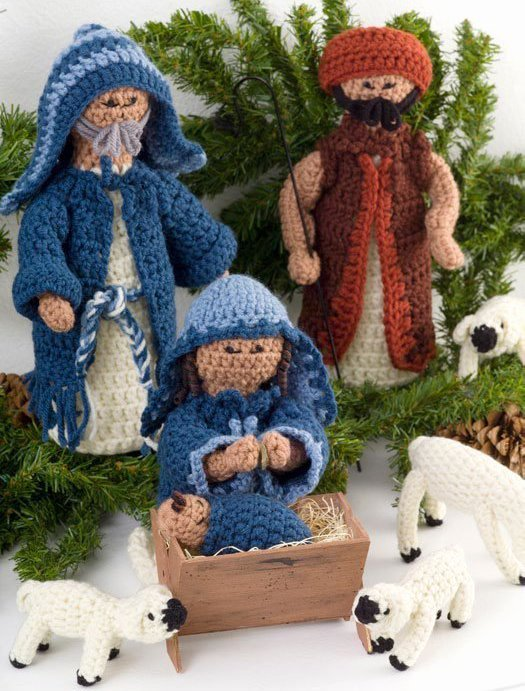 Free Outdoor Nativity Scene Patterns Unique Crocheted Nativity