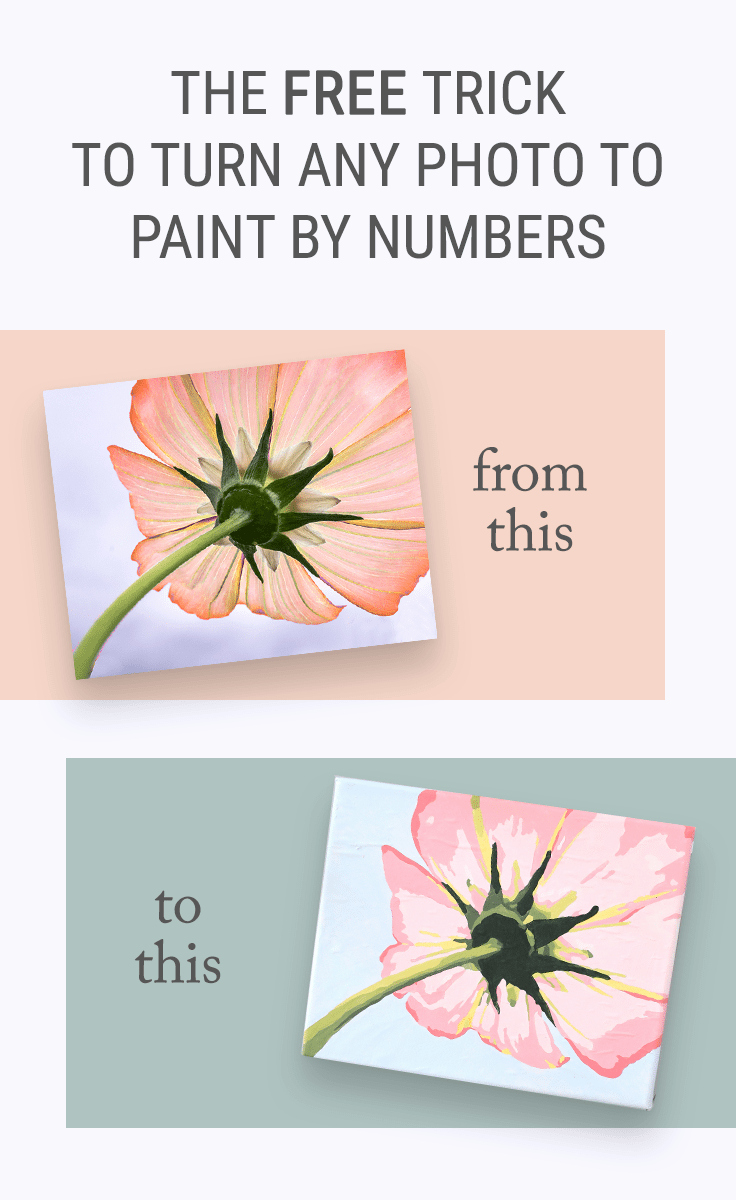 Free Paint by Numbers Templates Elegant the Free Trick for How to Turn A Into Paint by