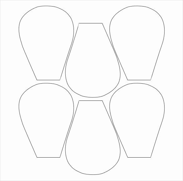 Free Paper Flower Patterns Beautiful Flower Petal Template 27 Free Word Pdf Documents