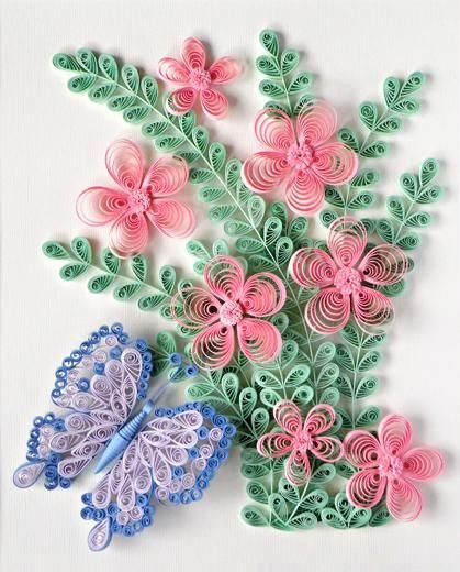 Free Paper Flower Patterns Beautiful Paper Quilling Free Patterns