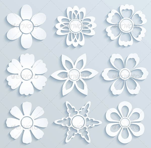 Free Paper Flower Patterns Best Of 5 Daisy Flower Templates Free Psd Vector Ai Eps