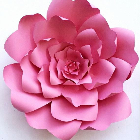 Free Paper Flower Patterns Fresh Paper Flower Tutorial Paper Flower Backdrop Paper Flower