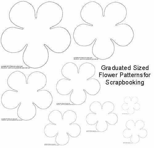 Free Paper Flower Patterns Unique 308 Best Images About Cricut Templates On Pinterest