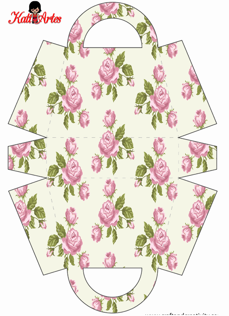 Free Paper Purse Template Printable Lovely Flowers Free Printable Paper Purses