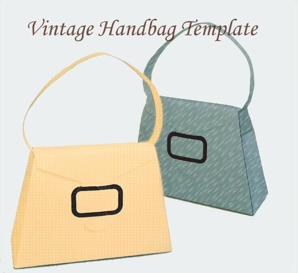 Free Paper Purse Template Printable New 22 Best Vintage Handbag Inspiration Images On Pinterest