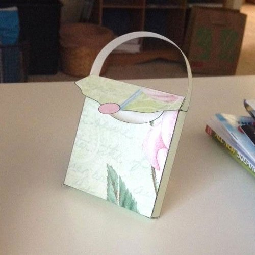 Free Paper Purse Template Printable New Our Favorite Free Paper Craft Patterns Craftsy