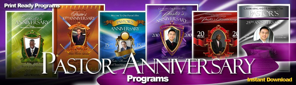 Free Pastor Anniversary Program Template Best Of Abundant Pastor Anniversary Program