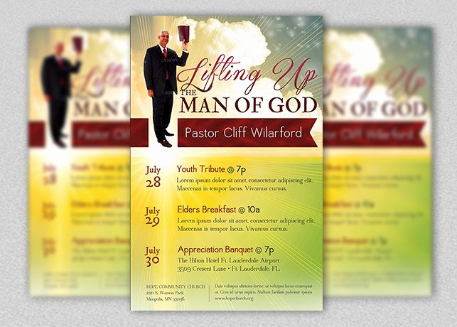 Free Pastor Anniversary Program Template Lovely Fathers Day Archives