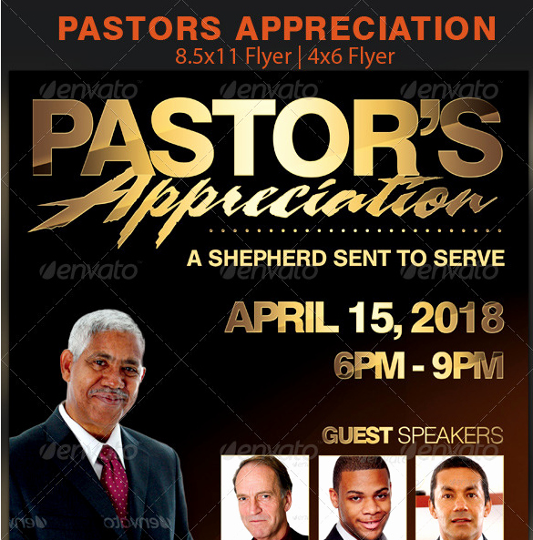 Free Pastor Anniversary Program Template New Pastor Church Anniversary Flyer Template