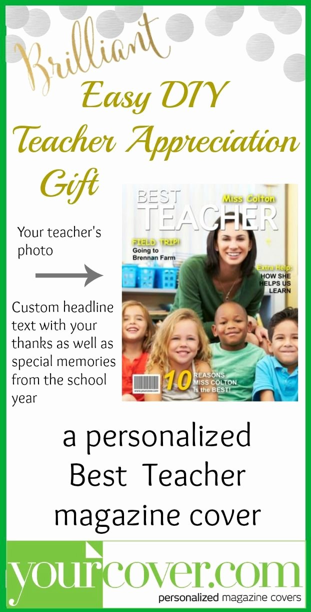 Free Personalized Magazine Covers Templates Luxury 1721 Best Images About Teacher Appreciation On Pinterest