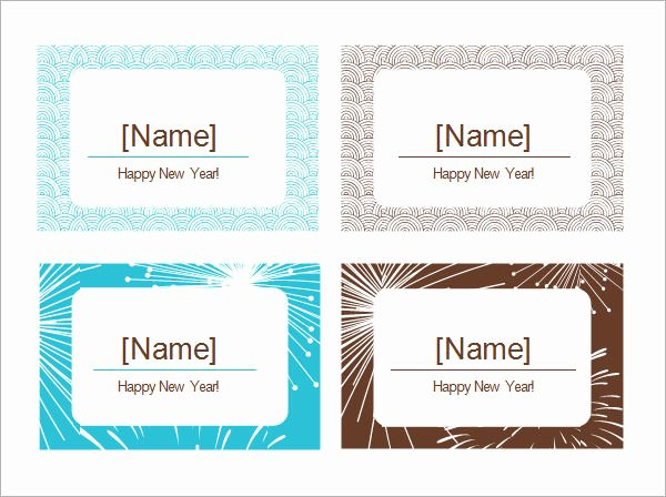 Free Place Card Template 6 Per Sheet Beautiful 7 Place Card Templates