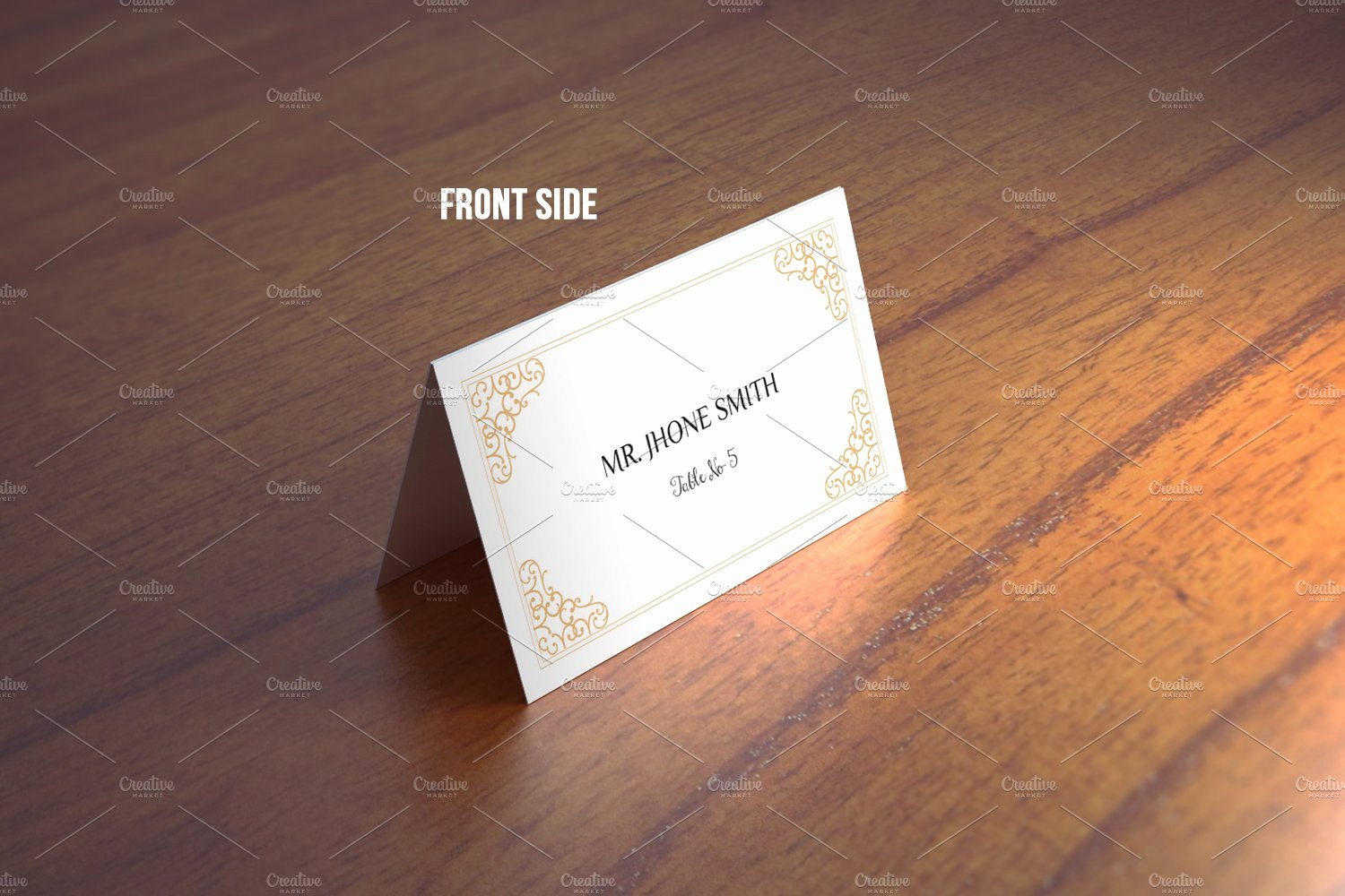 Free Place Card Template 6 Per Sheet Fresh Wedding Place Card Template Stationery Templates