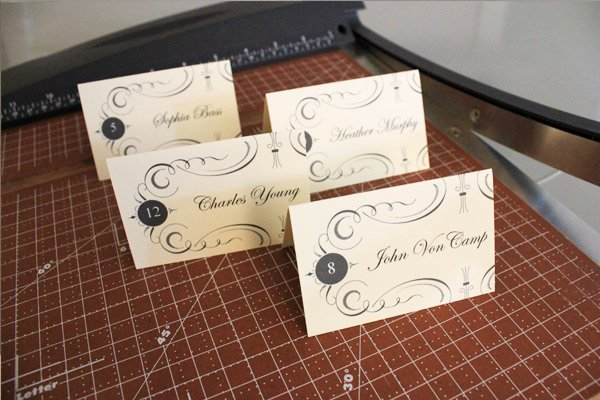 Free Place Card Template 6 Per Sheet New Free Printable Place Cards