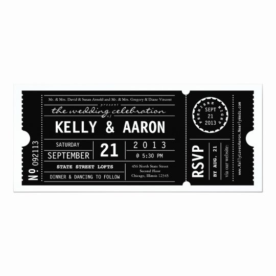Free Playbill Template Best Of Vintage Playbill theater Ticket Wedding Invitation