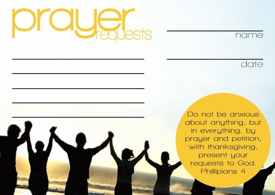 Free Prayer Card Template for Word Beautiful Pinterest • the World's Catalog Of Ideas