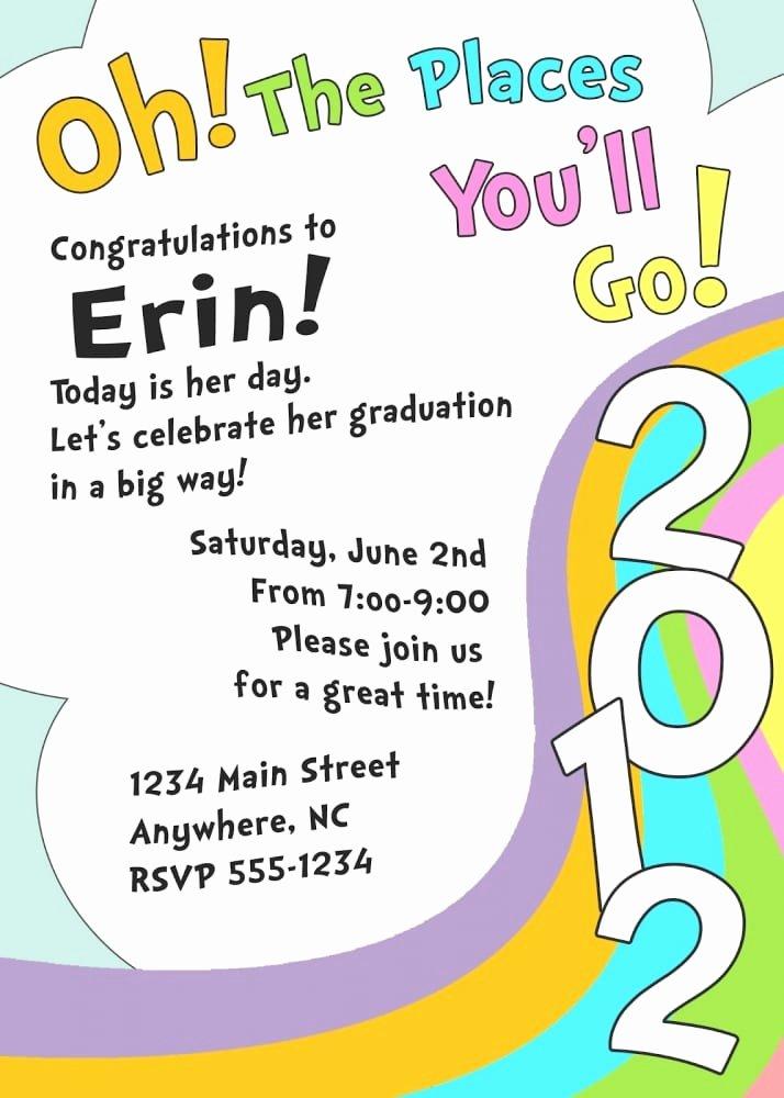 Free Preschool Graduation Program Template Elegant Preschool Printable Graduation Invitation