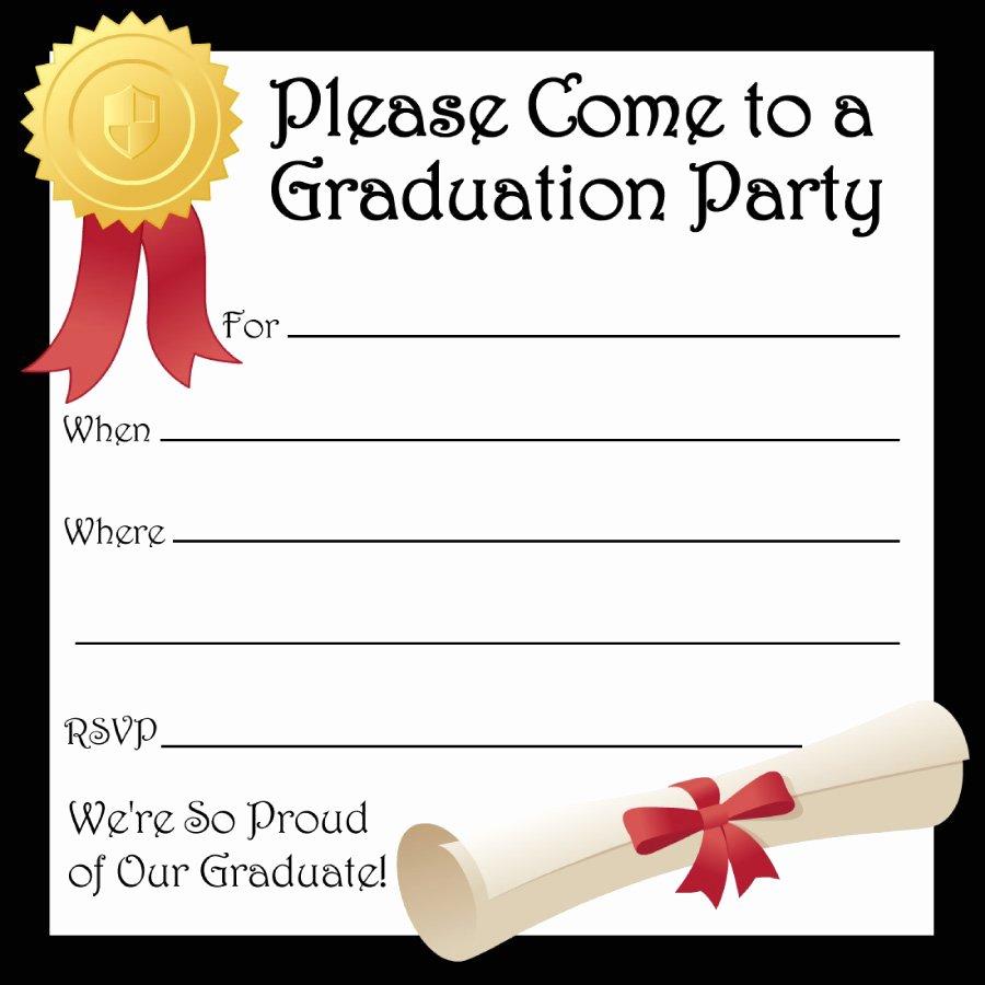 Free Preschool Graduation Program Template Inspirational 40 Free Graduation Invitation Templates Template Lab