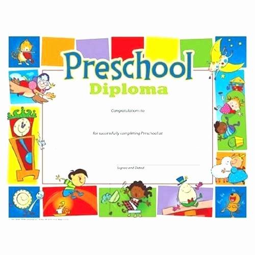Free Preschool Graduation Program Template Inspirational Kindergarten Graduation Program Template Preschool Diploma