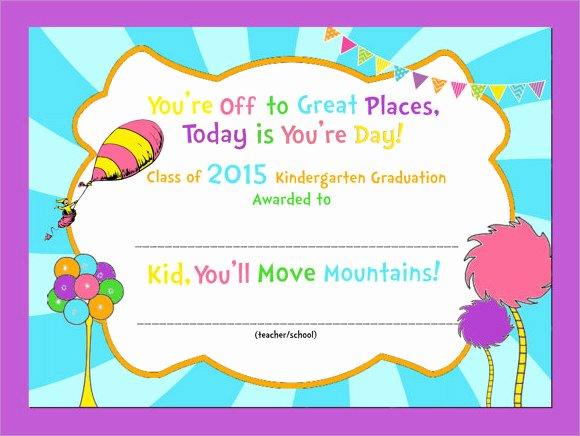 Free Preschool Graduation Program Template Luxury 10 Graduation Certificate Templates – Samples Examples