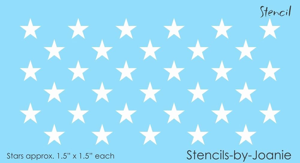 """Free Printable American Flag Star Stencil Awesome Stencil 33 1 25"""" Size Stars to Fit 15x19 Blue American"""