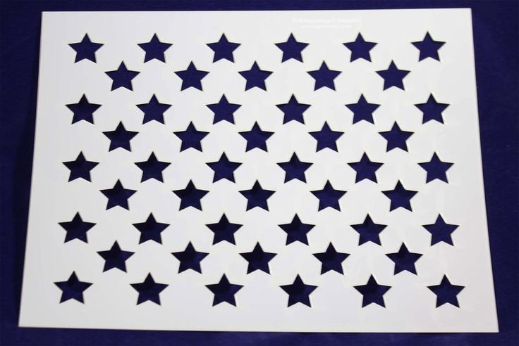 Free Printable American Flag Star Stencil Luxury 1000 Images About Mylar Stencils On Pinterest