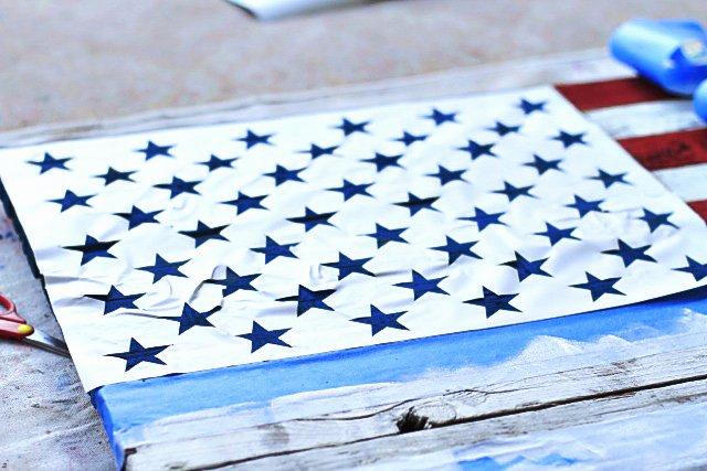 Free Printable American Flag Star Stencil Unique Diy Reclaimed Wood American Flag