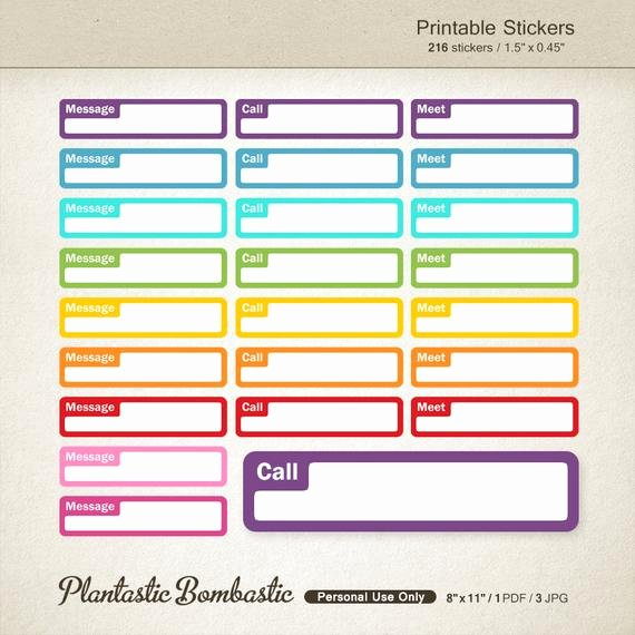 Free Printable Appointment Reminder Cards Awesome Life Planner Stickers Appointment Printable Planner Stickers