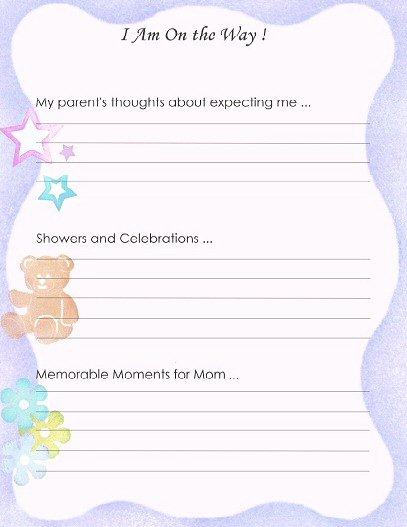 Free Printable Baby Book Pages Best Of Free Printable Baby Book Pages