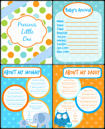 Free Printable Baby Book Pages Fresh Printable Baby Book Pages Free Download