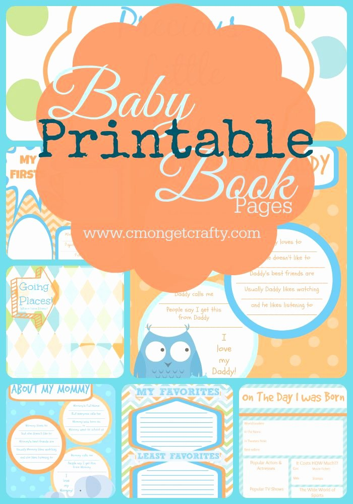 Free Printable Baby Book Pages Luxury 25 Best Ideas About Baby Book Pages On Pinterest