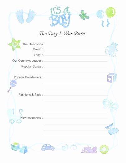 Free Printable Baby Book Pages Luxury Free Printable Baby Book Pages