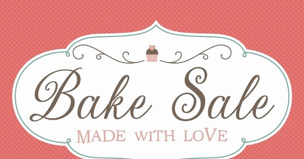 Free Printable Bake Sale Signs Awesome Fontaholic Freebie Friday Bake Sale Printables