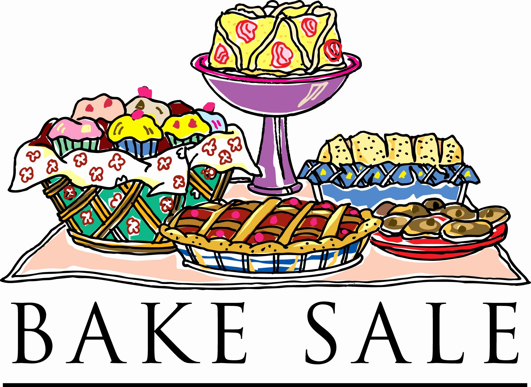 Free Printable Bake Sale Signs Best Of Free Bake Sale Clip Art Clipartix