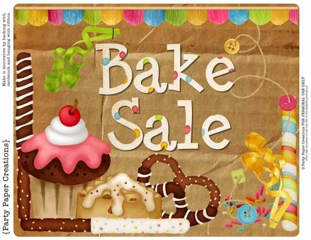 Free Printable Bake Sale Signs Inspirational Free Bake Sale Sign Printables Wpl Staff assn