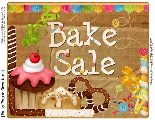 Free Printable Bake Sale Signs Lovely Free Bake Sale Sign Tags and Bag toppers Pta