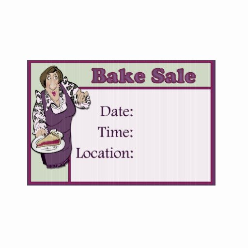 Free Printable Bake Sale Signs Luxury Bake Sale Signs
