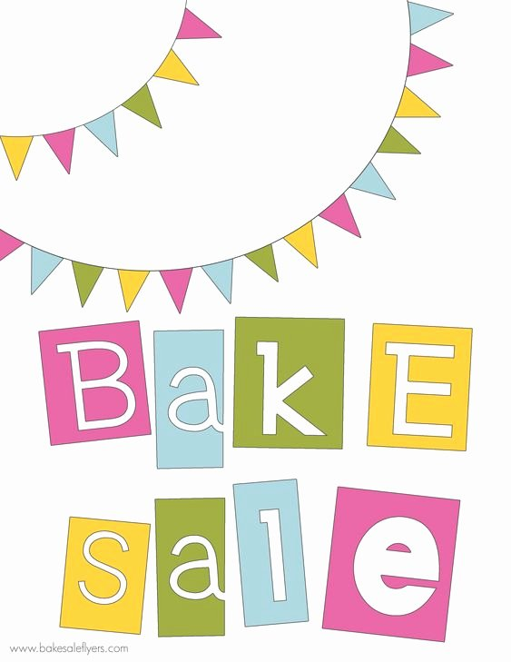 Free Printable Bake Sale Signs Unique Free Printable Bake Sale Banner