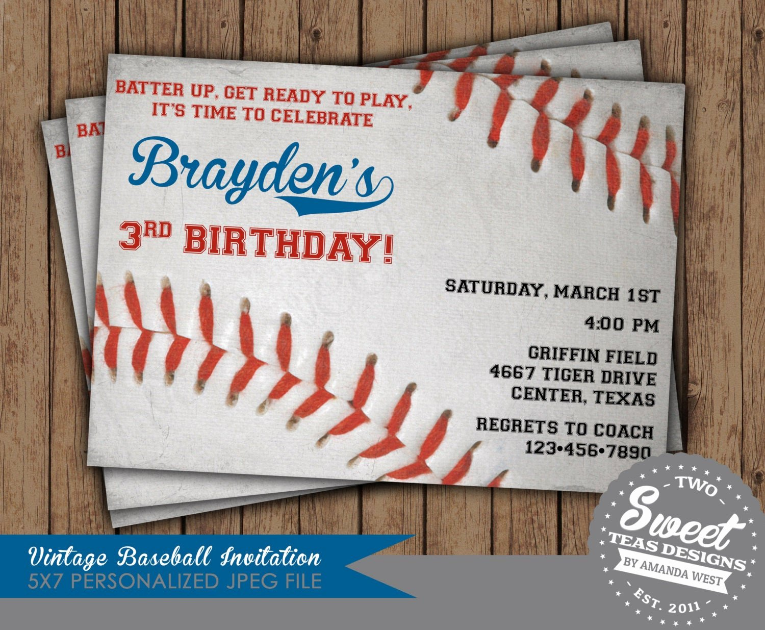 Free Printable Baseball Birthday Invitations Lovely Baseball Party Invitation Birthday Party Digital by 2sweetteas